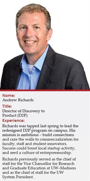 Andrew Richards, director of Discovery to Product