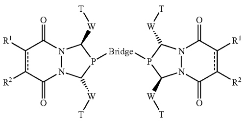 The bis(diazaphospholane) ligand used in hydroformylation reactions for enantioselective products.
